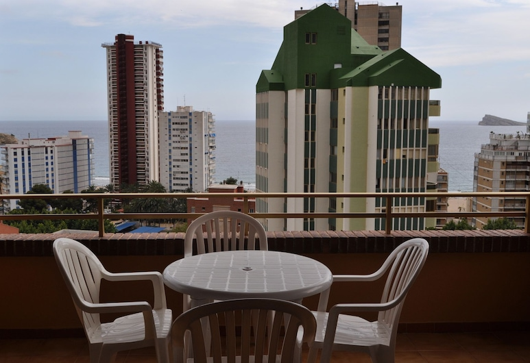 Apartamentos Trebol, Benidorm, Apartment, Terrace/Patio