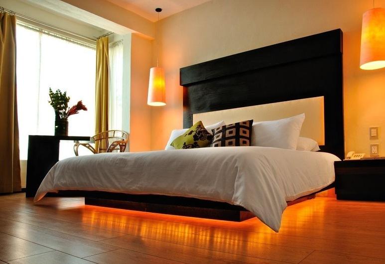 彭多精品海灘俱樂部飯店, 卡曼海灘, Junior Suite -King side bed, 客房