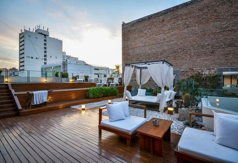 Azur Real Hotel Boutique, Córdoba, Terraza o patio