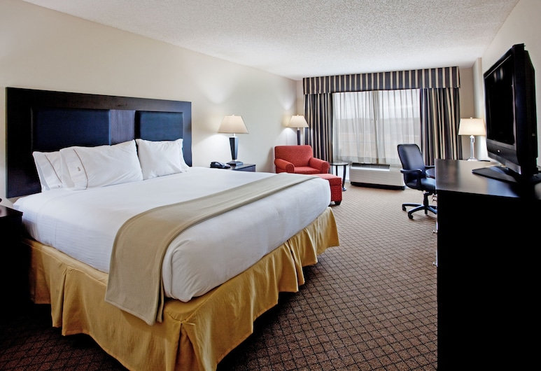 Holiday Inn Express & Suites Newberry, Newberry, Room, 1 King Bed, Accessible, Non Smoking (Roll-In Shower), Guest Room