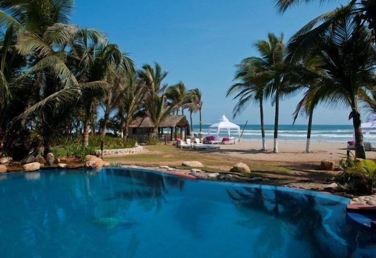 Casa Yalma Kaan Sensor, Acapulco, Piscine en plein air