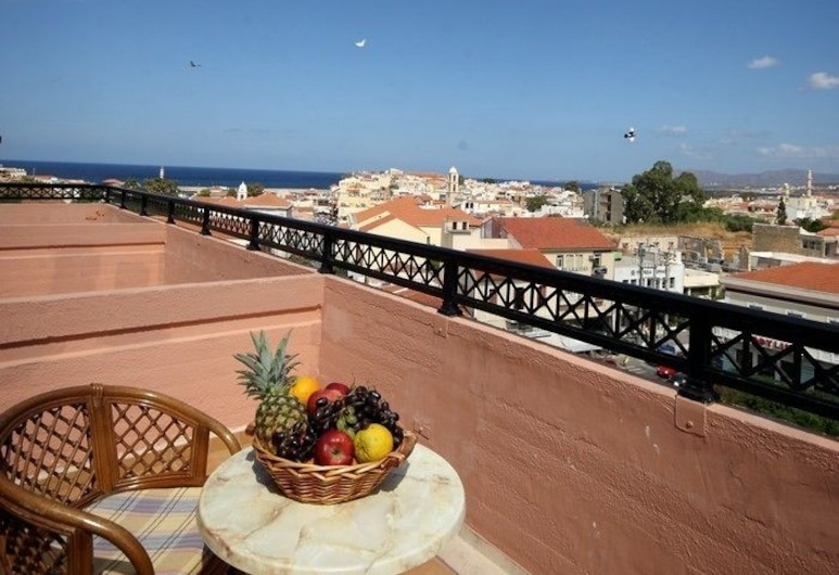 Arkadi Hotel, Chania, Double or Twin Room, City View, Balcony