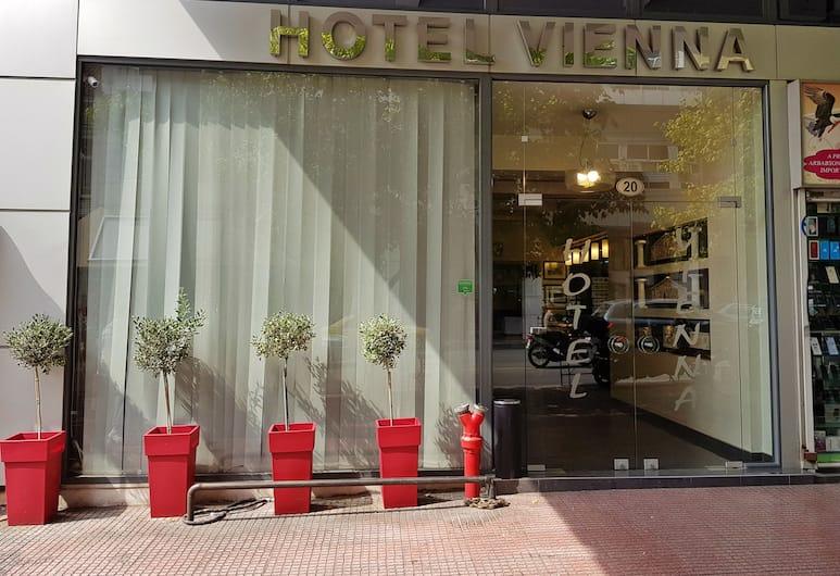 Hotel Vienna, Αθήνα, Εξωτερικός χώρος