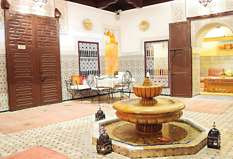 Riad Les Oliviers & Spa, Marrakech, Voorkant hotel