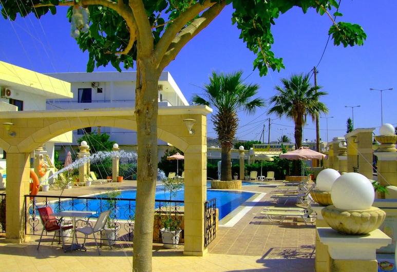 Antonios Hotel, Rodos, Solterrasse