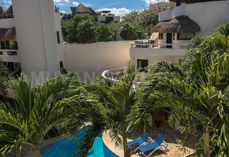 Blue Palms Condos By Kamuvan, פלאיה דל כרמן, בריכה חיצונית