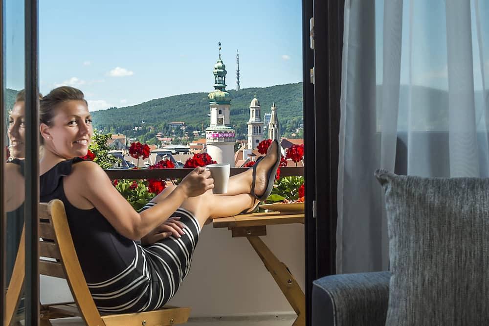 Habitación doble Deluxe, balcón, vista a la ciudad - Balcón