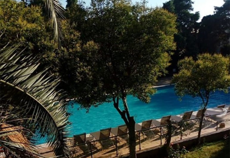 艾瑞斯飯店, 恰納卡萊, 豪華雙人或雙床房, 1 間臥室, 非吸煙房, 泳池景觀, 客房景觀