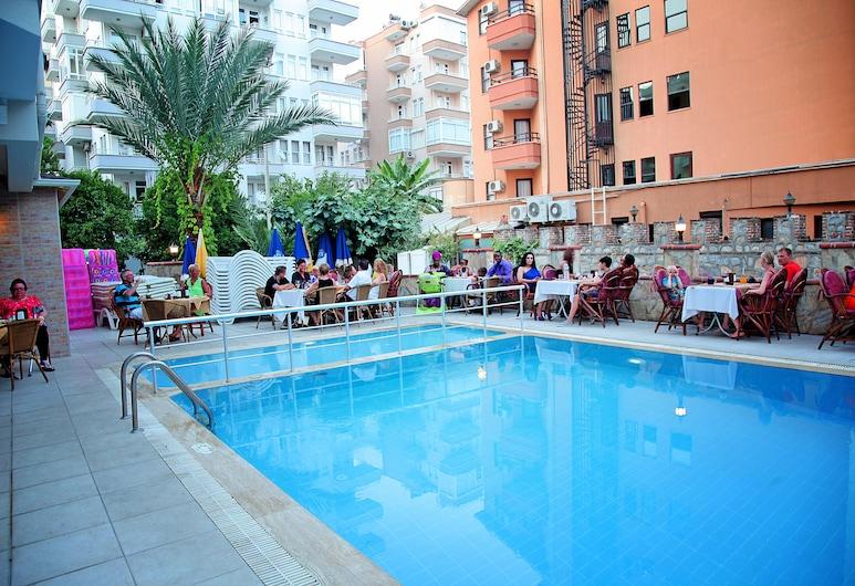 Yeniacun Apart Hotel, Alanya, Venkovní bazén