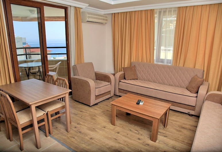 Yeniacun Apart Hotel, Alanya, Appartement, 2 slaapkamers, Woonruimte