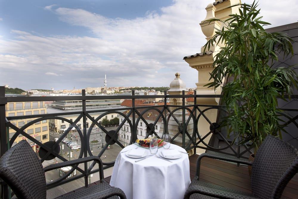 Tower Duplex Suite (Free SPA entrance & Executive Lounge) - Balkon