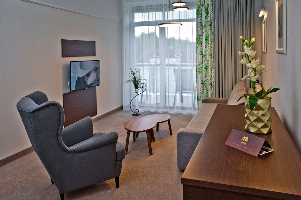 Apartamentai su patogumais - Svetainė
