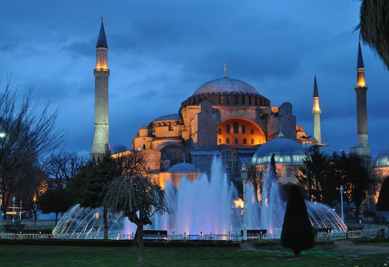 ブルー トゥアナ ホテル, イスタンブール, ホテルのフロント - 夕方 / 夜間