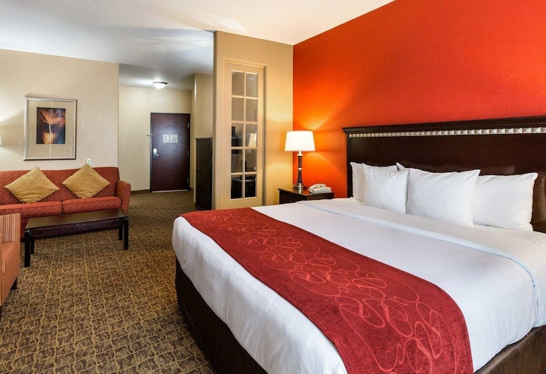 Comfort Suites Pearland / South Houston, Pearland, Executive-Suite, 1King-Bett, Nichtraucher, Zimmer