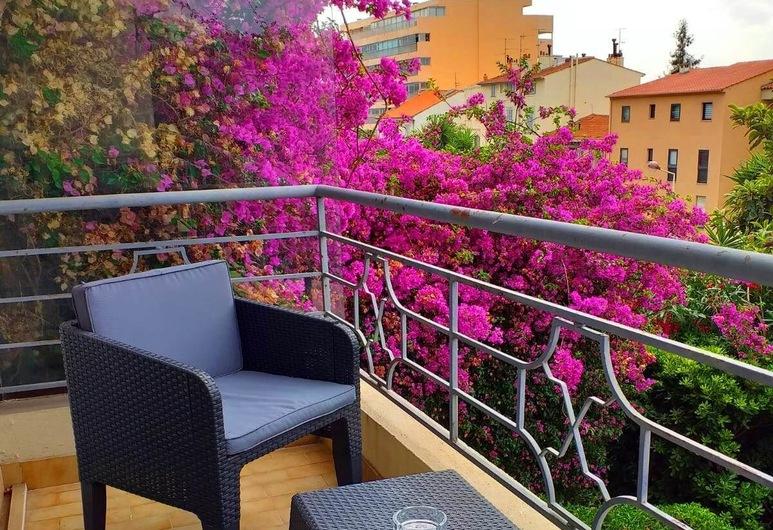 Bellevue, Cannes, Eenpersoonskamer, Terras