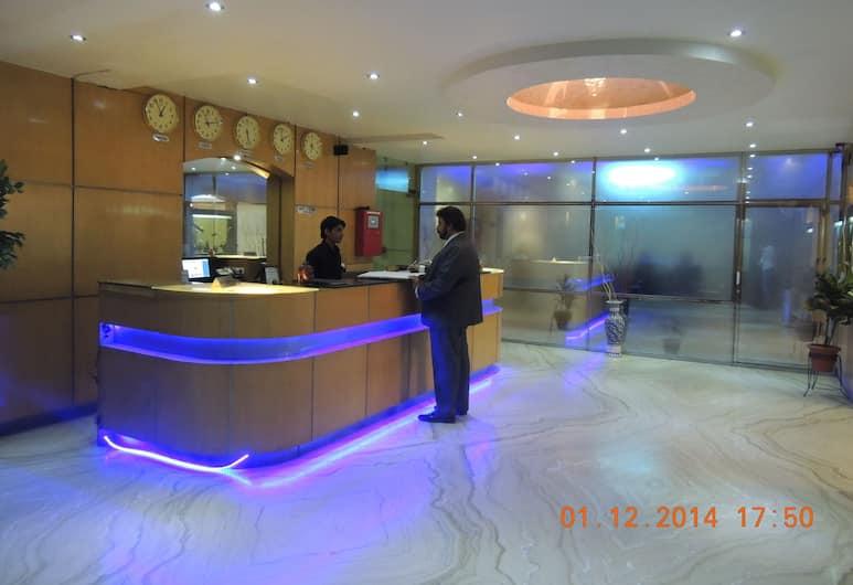 Hotel Grand Shoba, Nuova Delhi, Salottino della hall