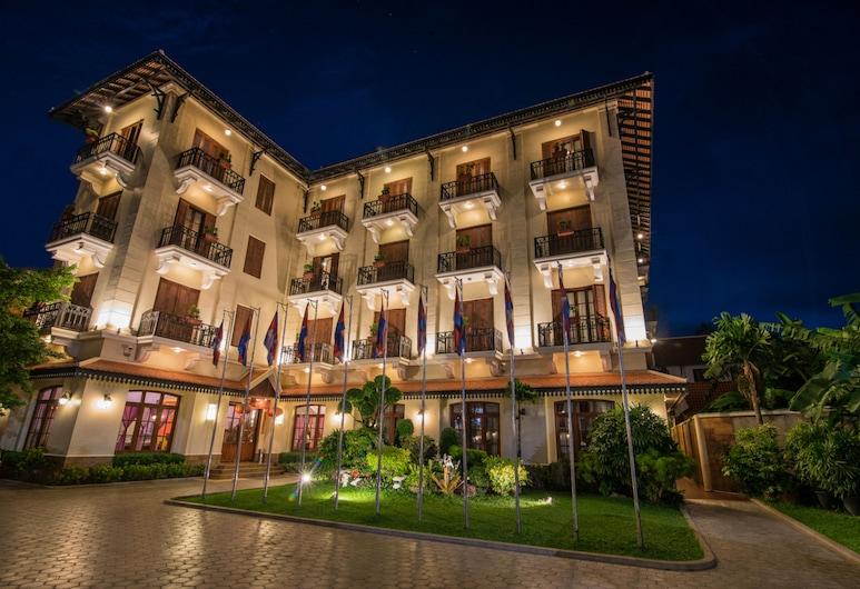 Steung Siemreap Hotel, Siem Reap, Pohľad na hotel – večer/v noci