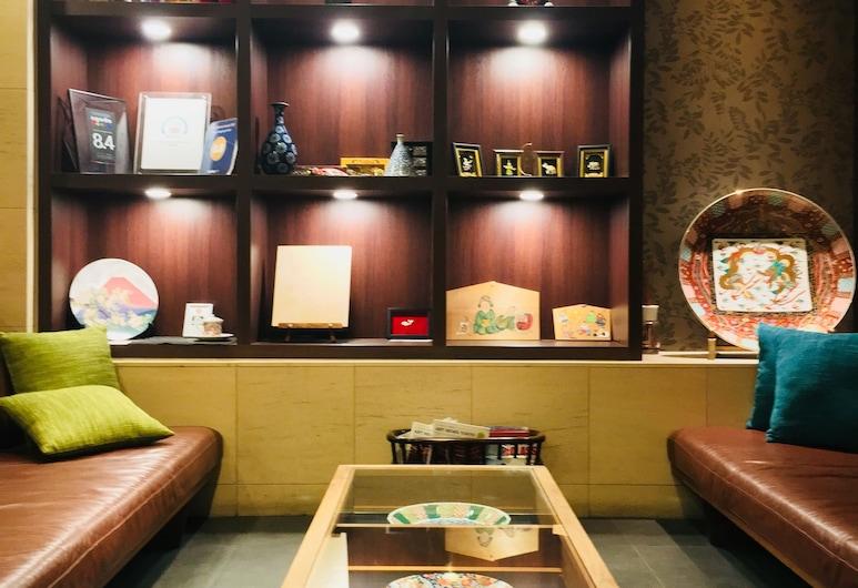東京 上野 東金屋ホテル, 台東区, ロビー応接スペース
