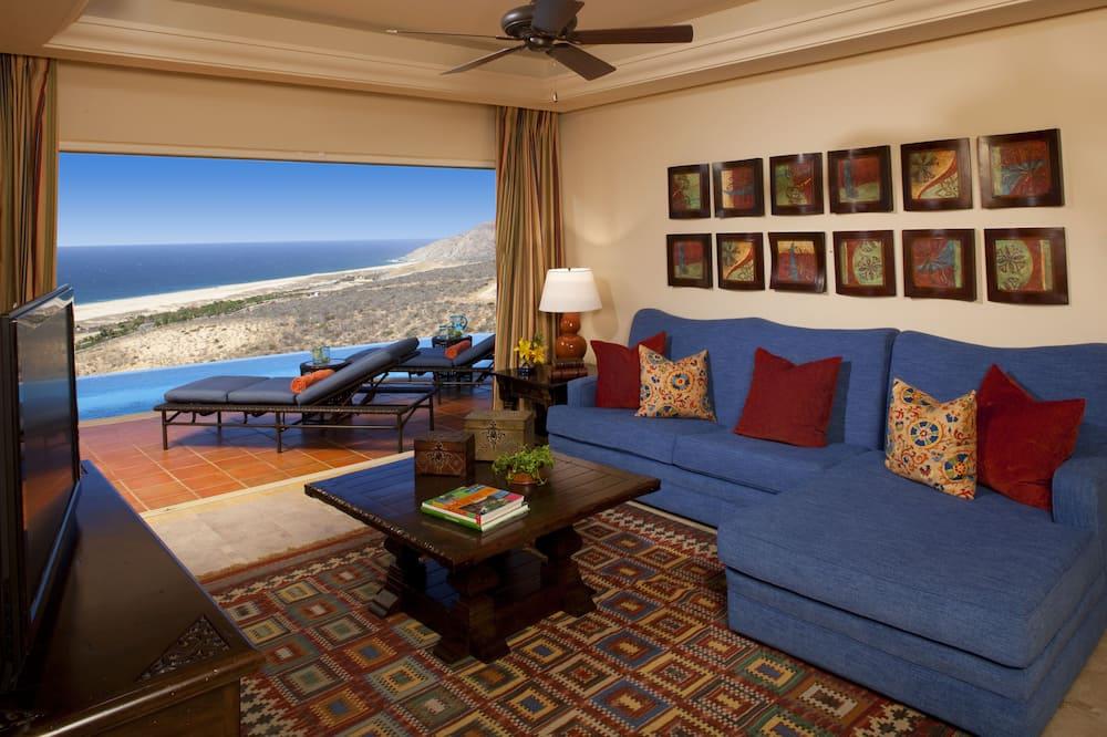 Luksusa villa, trīs guļamistabas, privāts baseins, skats uz okeānu - Pludmale