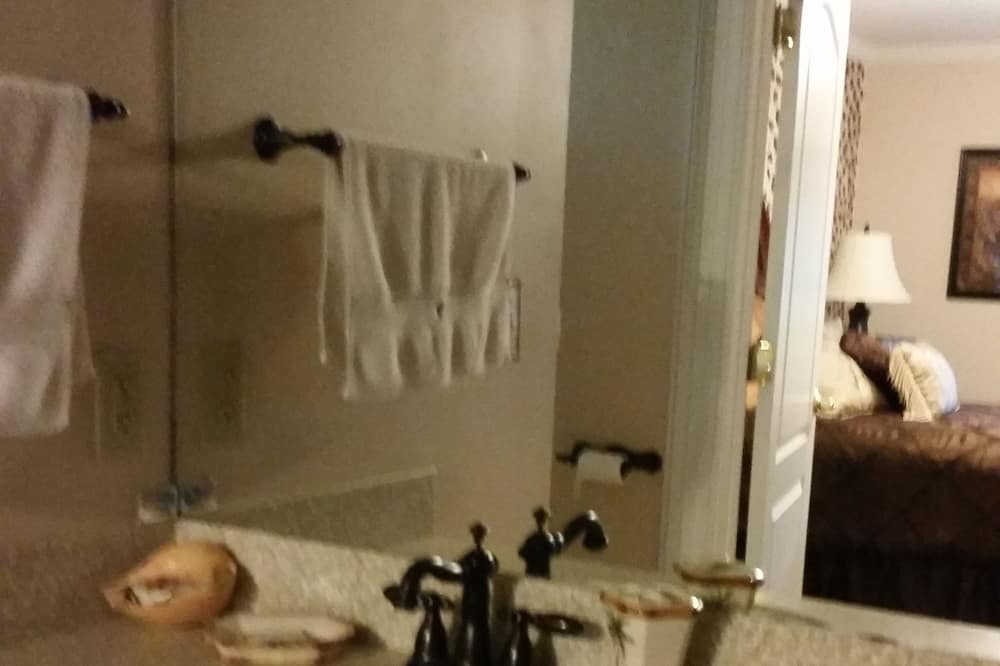 Leopard Room (Main House) - Bilik mandi