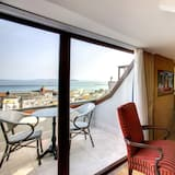 Loft superior, balcón, vista al mar - Sala de estar