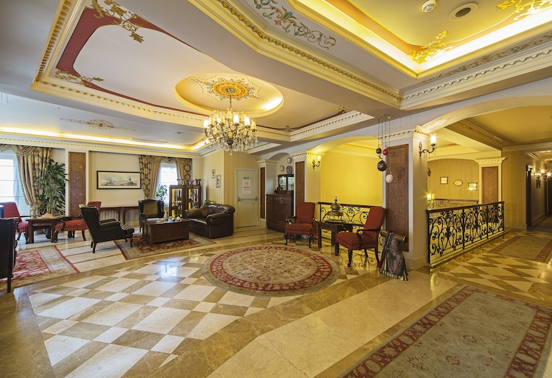 Acra Hotel - Special Class, İstanbul, Lobi Oturma Alanı
