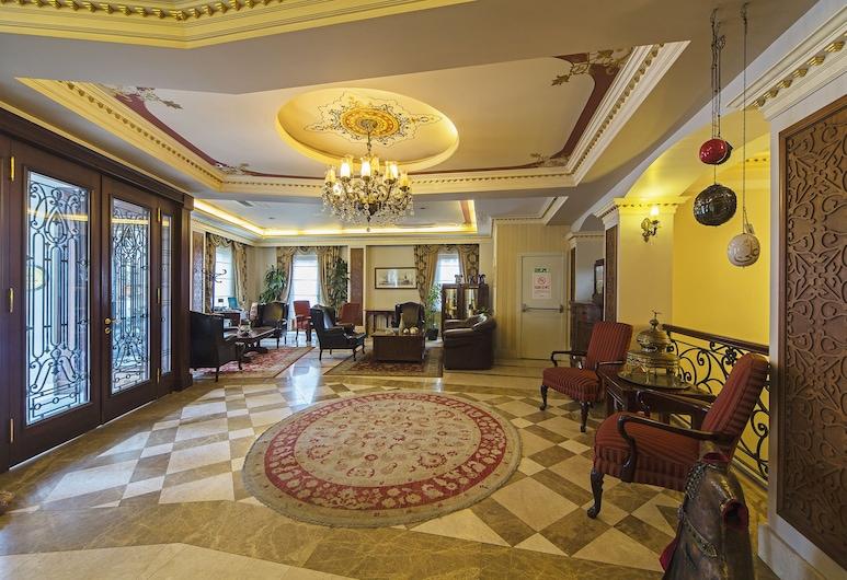 Acra Hotel - Special Class, Istanbul, Priestory na sedenie v hale