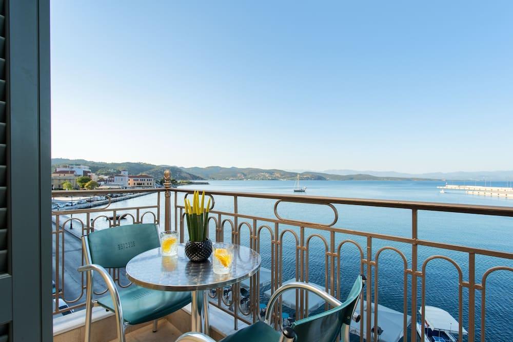 Klasisks divvietīgs numurs, skats uz jūru - Balkons