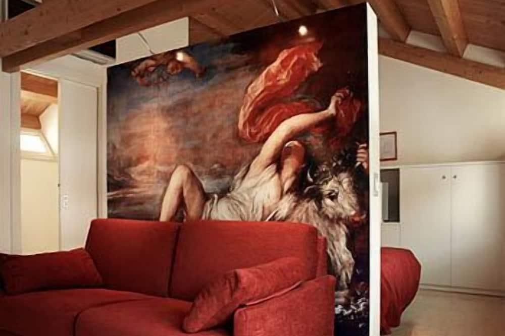 Habitación triple (Suite) - Sala de estar