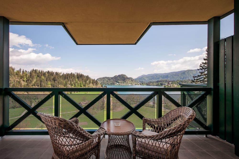 Doppelzimmer, Balkon, Seeblick - Balkon