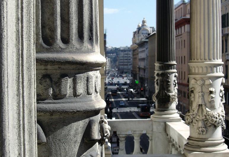 Hotel Bel Soggiorno, Генуя, Фасад отеля