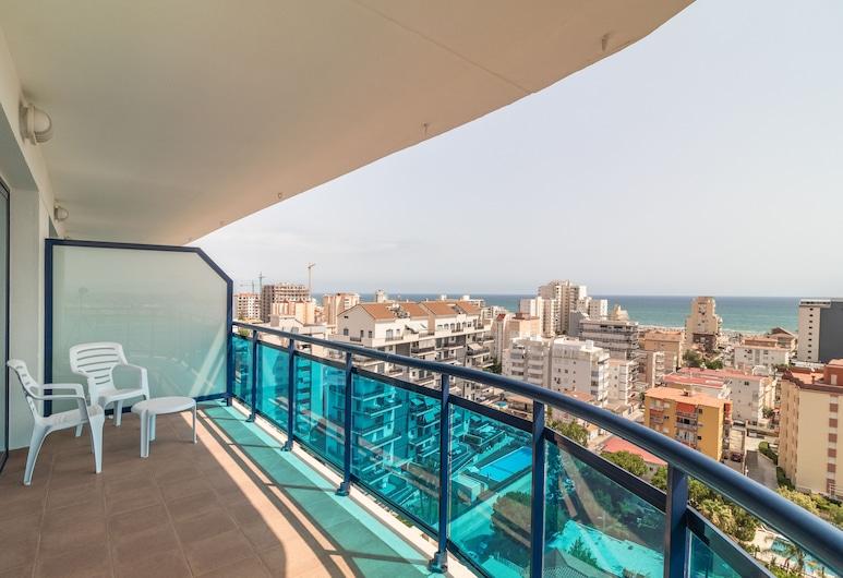 Hotel Cibeles Playa, Gandia, ห้องซิงเกิล, ระเบียง