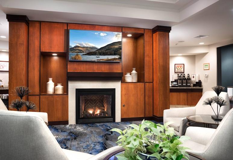 Fairfield Inn & Suites South Boston, Boston Sur, Sala de estar en el lobby