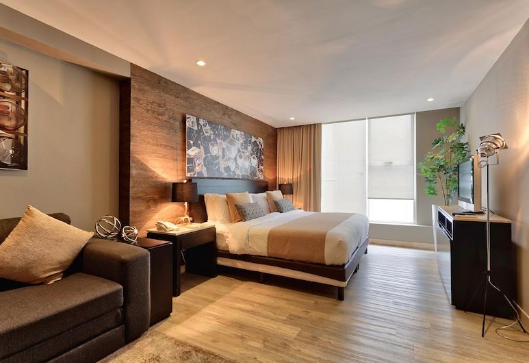 Ventura Hotel & Suites by Dominion, Huixquilucan, Estudio Deluxe, Habitación