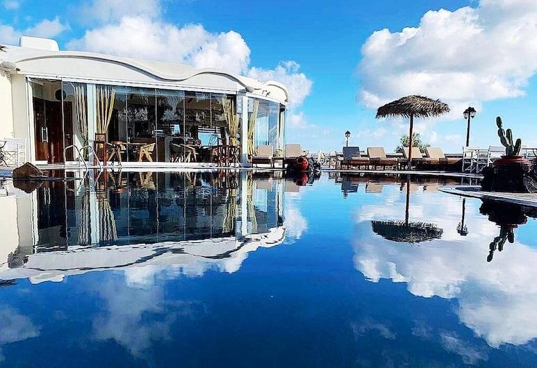 馬諾斯別墅酒店, 聖托里尼, 外觀