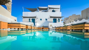 Foto van Evgenia Villas & Suites in Santorini