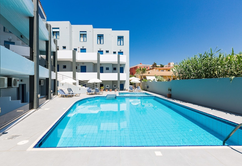 Yacinthos Hotel-Apartments, Rethymno, Exteriör