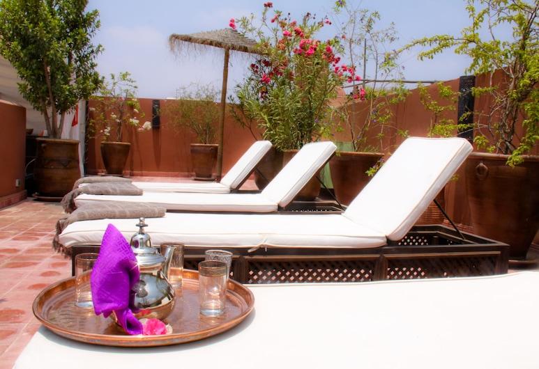 馬里亞納庭院酒店, 馬拉喀什, 舒適單棟房屋, 陽台