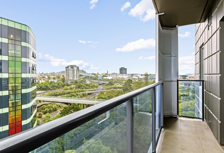 St Martins Apartment Hotel, Auckland, Apartment, 2Schlafzimmer (Plus), Balkon