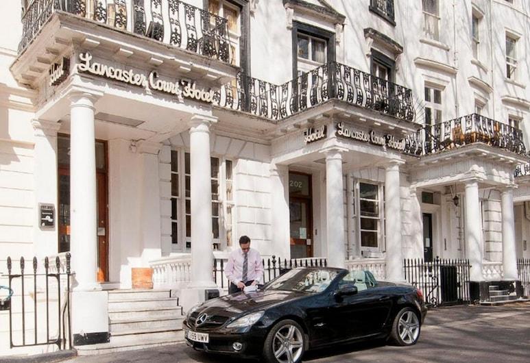蘭開斯特苑酒店, 倫敦, 酒店正面