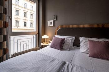 Wiedeń — zdjęcie hotelu Koncept Hotel Liebelei
