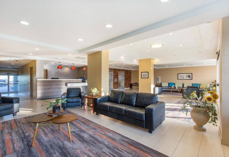 Gateway Hotel & Suites, Ascend Hotel Collection, Ošen Sitis, Poilsio zona vestibiulyje