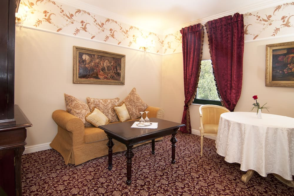 Apartament prezydencki - Salon