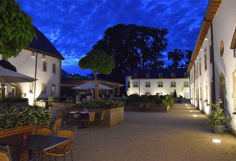 Chateau d'Urspelt, Clervaux, Terraço/Pátio Interior