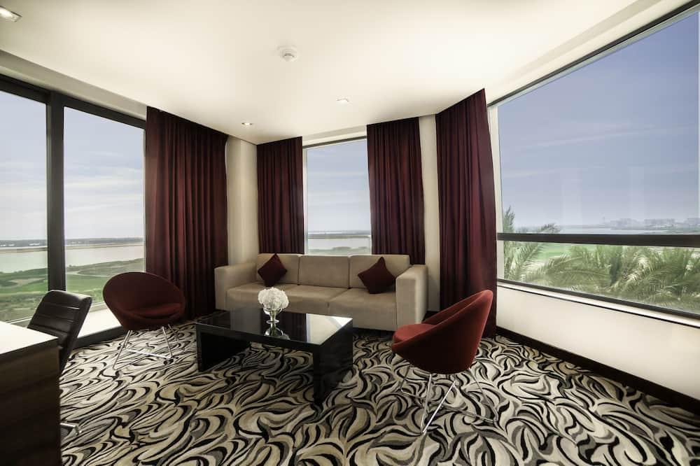 Улучшенный люкс, балкон (Panoramic View) - Номер