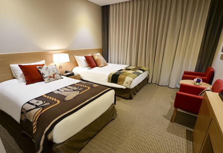 新東方飯店, 首爾, 高級雙床房, 客房