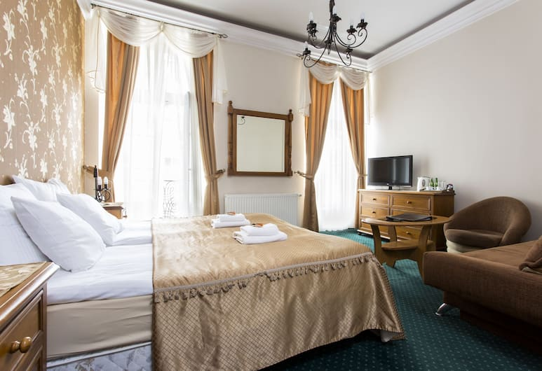 Abella Suites & Apartments by Artery Hotels, Krakow, Classic Double or Twin Room, City View, Room