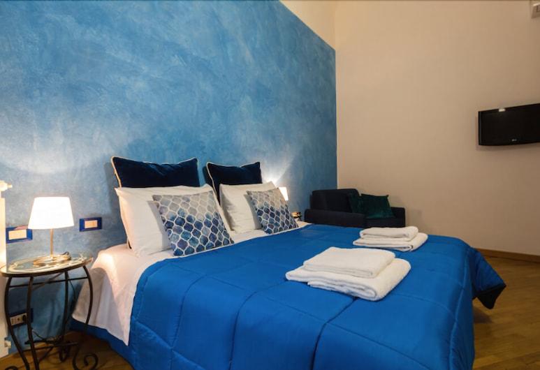 La Locandiera B&B, Florencija, Pagerinto tipo dvivietis kambarys, Nerūkantiesiems, atskiras vonios kambarys, Svečių kambarys