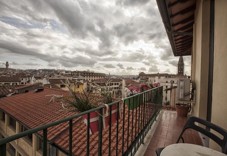 Hotel Ester, Florence, Triple Room, Balcony, City View, Balcony