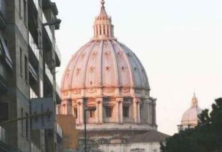 Alla Cupola di San Pietro, Roma, Pemandangan dari Hotel